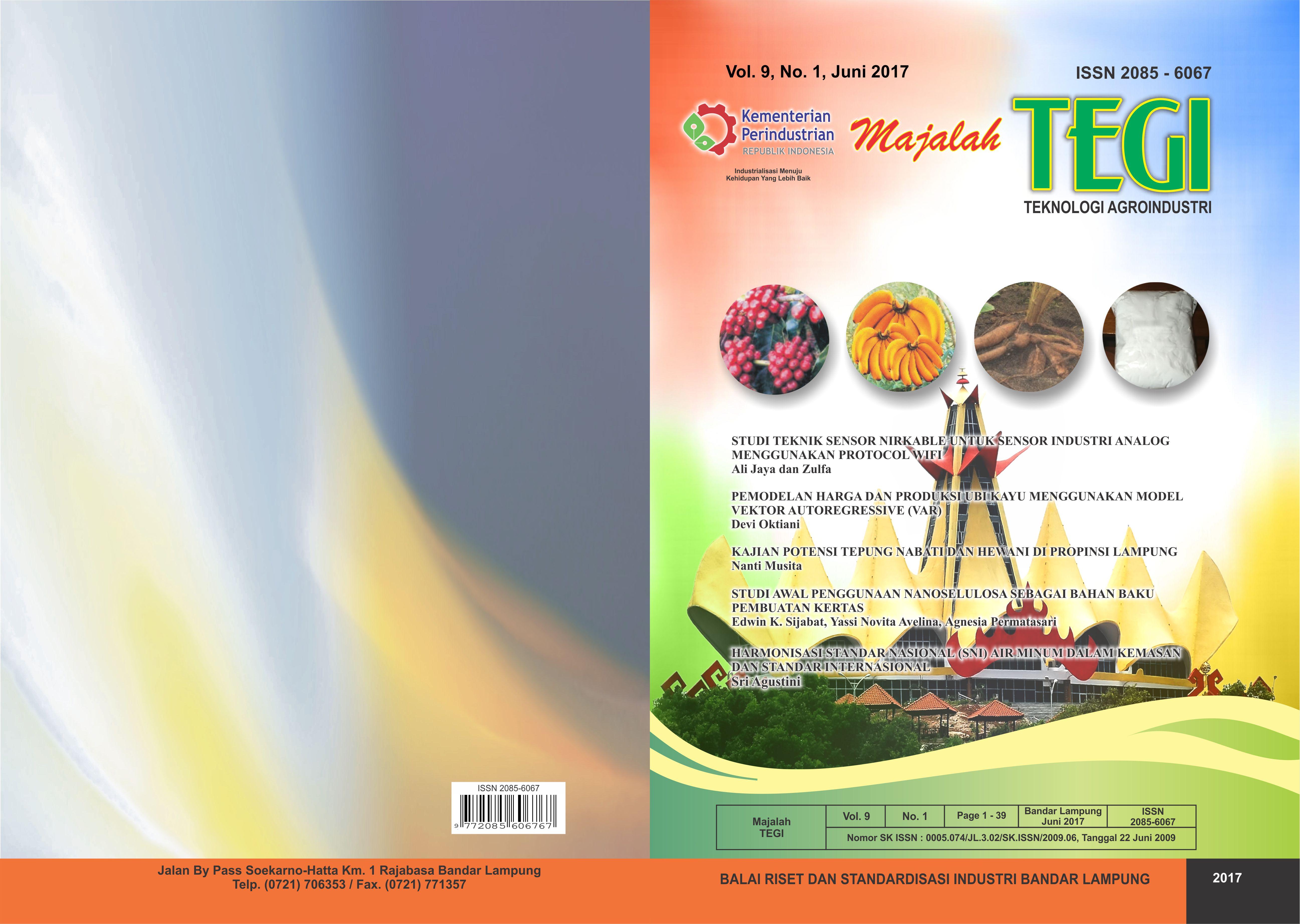 Majalah Teknologi Agroindustri